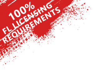 100% Florida Licensing Requirements
