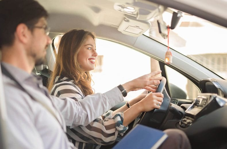 Behind the wheel driving lessons will teach you
