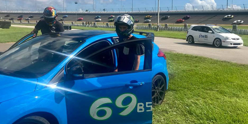 Student test driving for advanced performance