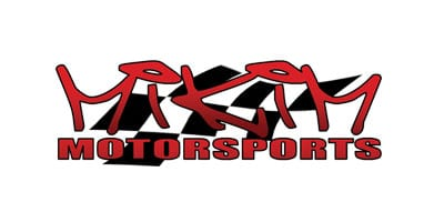 Mikim MotorSports with racing flag