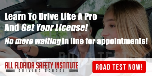 Road testing permit license