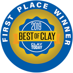 AAA Approved Driving School, Best of Clay 2019, First Place Winner
